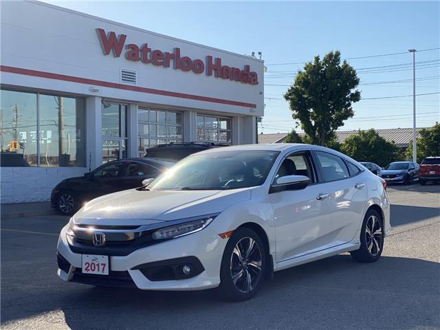 2017 Honda Civic Touring (Stk: u7118) in Waterloo - Image 1 of 3