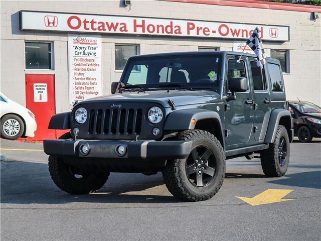 2017 Jeep Wrangler Unlimited Sport (Stk: 334131) in Ottawa - Image 1 of 25