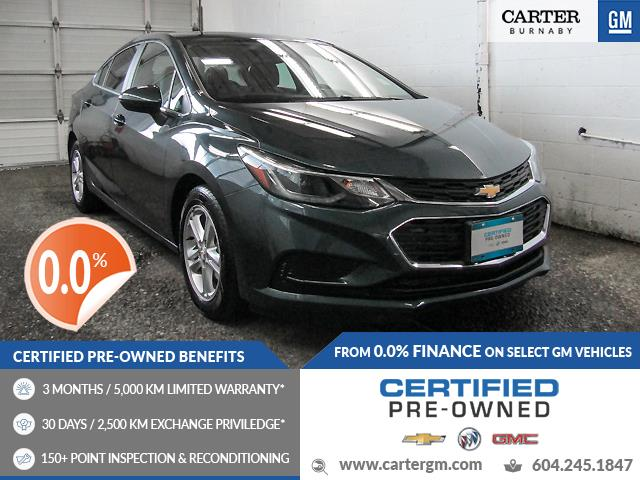 2018 Chevrolet Cruze LT Auto (Stk: P9-61491) in Burnaby - Image 1 of 22