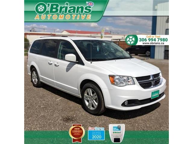 2018 Dodge Grand Caravan Crew 2C4RDGDG1JR295483 13422A in Saskatoon