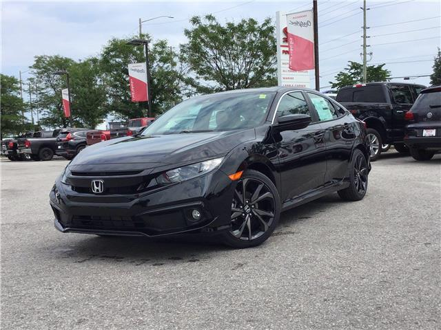 2020 Honda Civic Sport (Stk: 20567) in Barrie - Image 1 of 23