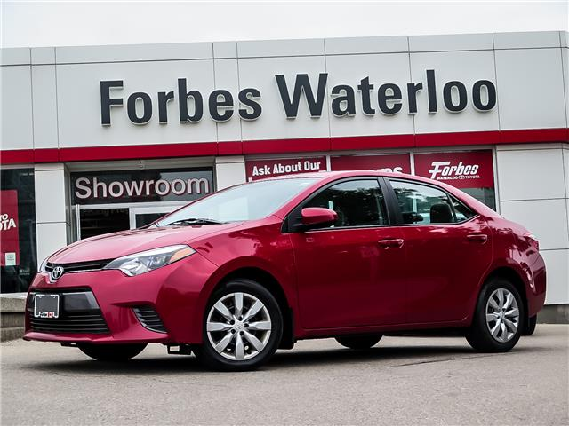 2016 Toyota Corolla LE (Stk: 02236R) in Waterloo - Image 1 of 23