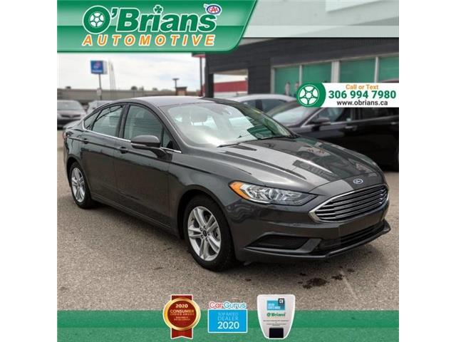 2018 Ford Fusion SE 3FA6P0HD7JR221955 13534A in Saskatoon