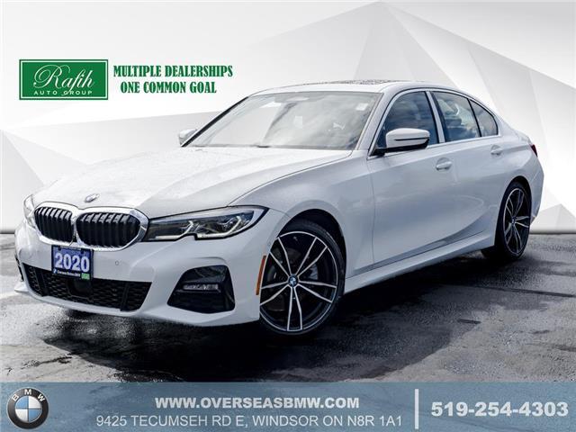 2020 BMW 330i xDrive (Stk: B8277) in Windsor - Image 1 of 23