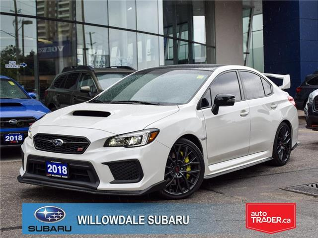 2018 Subaru WRX STI Sport-tech Manual w-Wing Spoiler >No accident< (Stk: P3186) in Toronto - Image 1 of 29