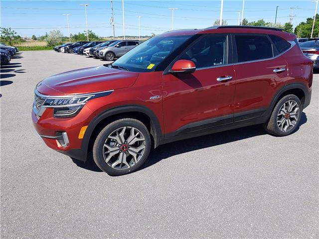 2021 Kia Seltos SX Turbo (Stk: KV37) in Kanata - Image 1 of 10
