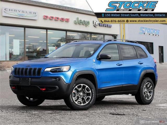 2020 Jeep Cherokee Trailhawk (Stk: 33519) in Waterloo - Image 1 of 27
