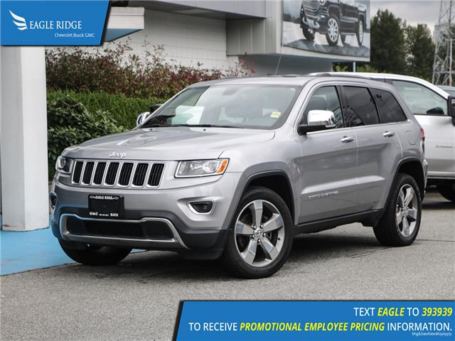 2015 Jeep Grand Cherokee Limited (Stk: 158220) in Coquitlam - Image 1 of 17