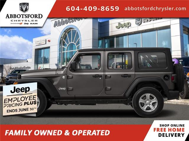 2020 Jeep Wrangler Unlimited Sahara (Stk: L306868) in Abbotsford - Image 1 of 1