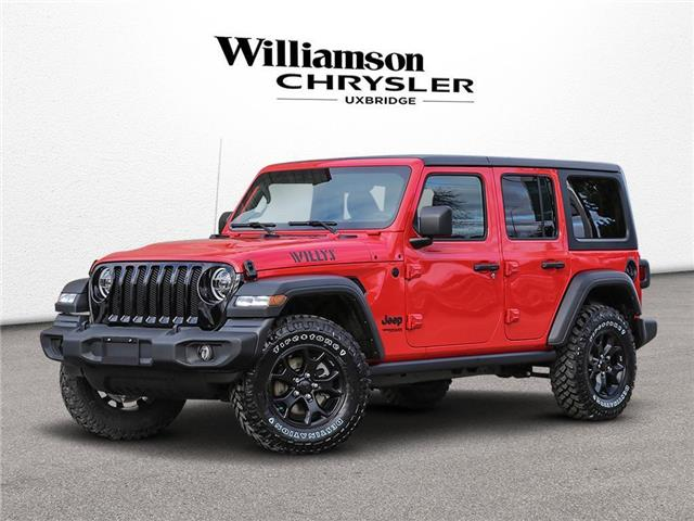2020 Jeep Wrangler Unlimited Sport (Stk: 3619) in Uxbridge - Image 1 of 22