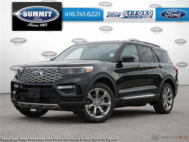2020 Ford Explorer Platinum (Stk: 20T7480) in Toronto - Image 1 of 23