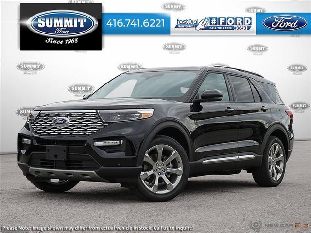 2020 Ford Explorer Platinum (Stk: 20T7265) in Toronto - Image 1 of 23