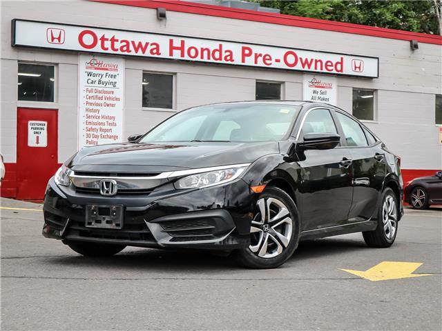 2016 Honda Civic LX (Stk: H83450) in Ottawa - Image 1 of 26