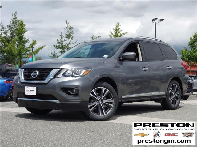 2018 Nissan Pathfinder Platinum (Stk: X29661) in Langley City - Image 1 of 30