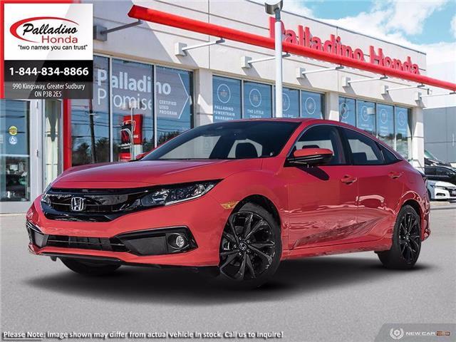 2020 Honda Civic Sport (Stk: 22580) in Greater Sudbury - Image 1 of 21