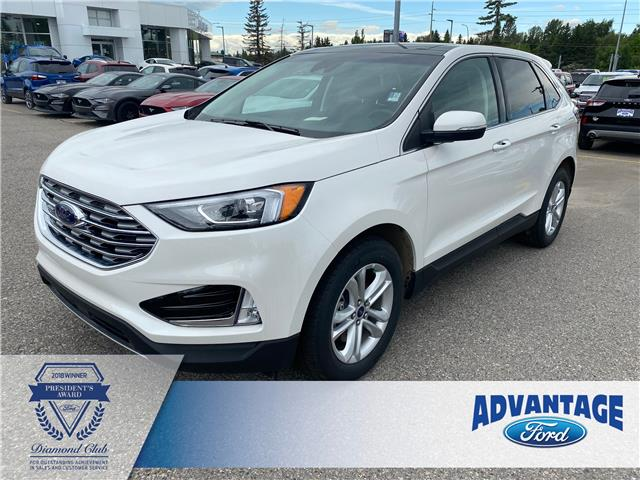 2020 Ford Edge SEL (Stk: L-354) in Calgary - Image 1 of 6