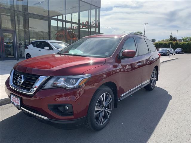2020 Nissan Pathfinder Platinum (Stk: T20153) in Kamloops - Image 1 of 27