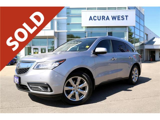 2016 Acura MDX SOLD (Stk: 19341A) in London - Image 1 of 1