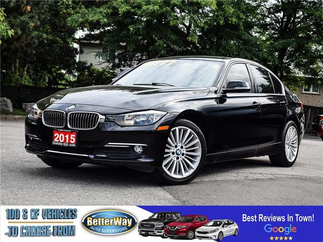 2015 BMW 3 Series 320i xDrive |LEATHER  |NAVIGATION |LOADED!! (Stk: S75271) in Stoney Creek - Image 1 of 23