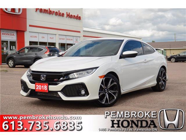 2018 Honda Civic Si (Stk: P7468) in Pembroke - Image 1 of 28