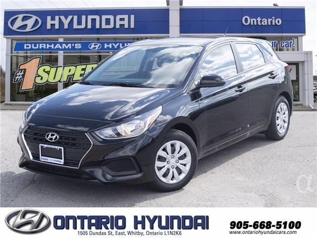 2020 Hyundai Accent Preferred (Stk: 124754) in Whitby - Image 1 of 17