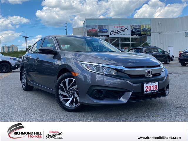 2018 Honda Civic EX (Stk: 202666P) in Richmond Hill - Image 1 of 23