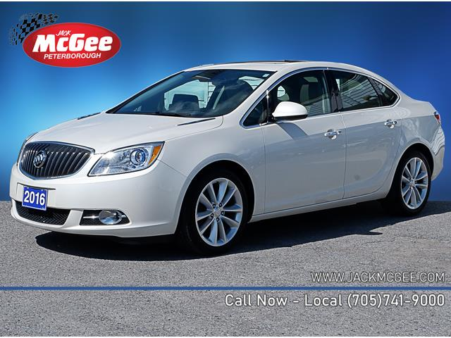 2016 Buick Verano Leather (Stk: P16521) in Peterborough - Image 1 of 18