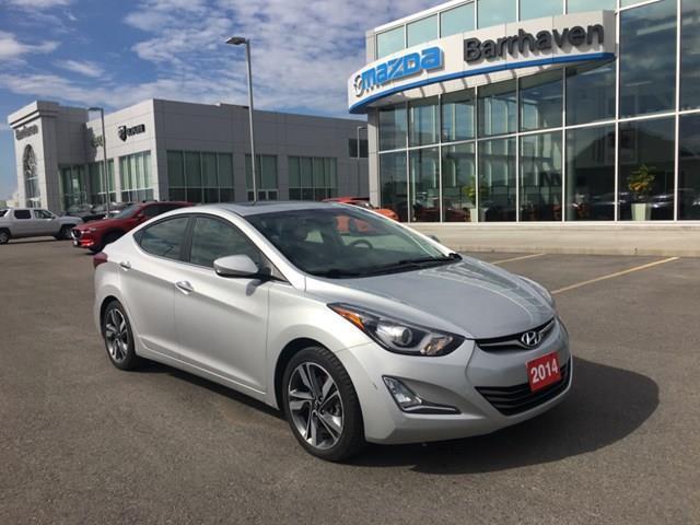 2014 Hyundai Elantra Limited (Stk: 2408A) in Ottawa - Image 1 of 18