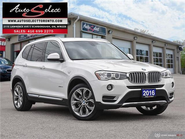 2016 BMW X3 xDrive28i 5UXWX9C52G0D90774 16WX431 in Scarborough
