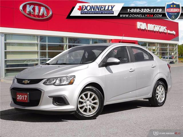 2017 Chevrolet Sonic LT Auto (Stk: MS148DTB) in Kanata - Image 1 of 27
