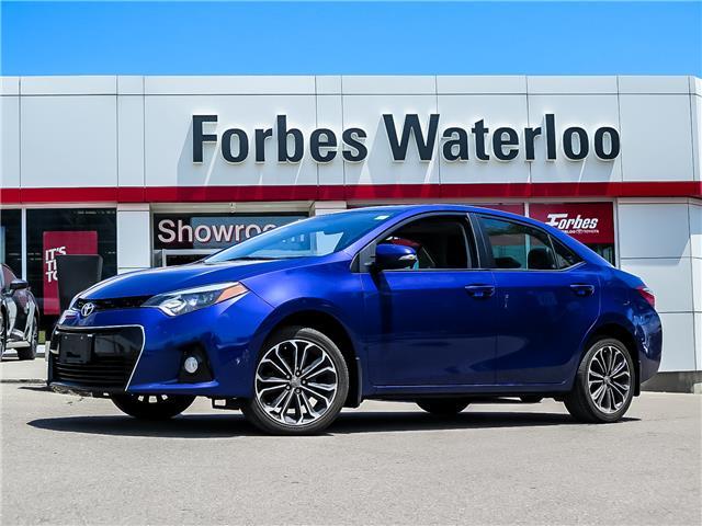 Used 2016 Toyota Corolla S  - Waterloo - Forbes Waterloo Toyota
