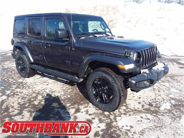 2020 Jeep Wrangler Unlimited Sahara (Stk: 200185) in OTTAWA - Image 1 of 20