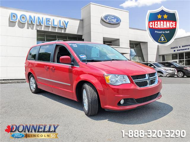2012 Dodge Grand Caravan Crew 2C4RDGDG8CR185677 CLDUR6396A in Ottawa