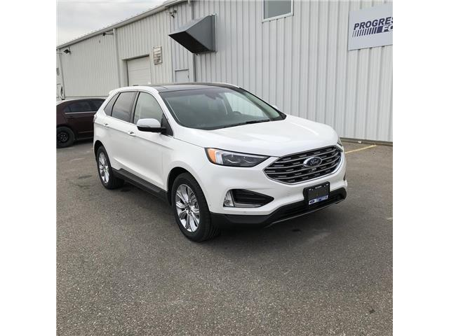 2020 Ford Edge Titanium (Stk: LBA65229) in Wallaceburg - Image 1 of 14