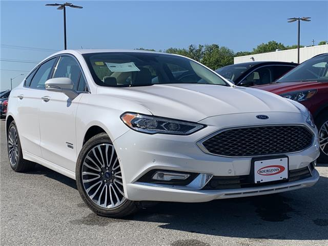 2018 Ford Fusion Energi Platinum (Stk: 20T528B) in Midland - Image 1 of 16