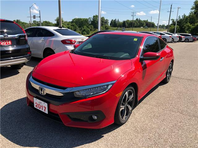 2017 Honda Civic Touring (Stk: 20922A) in Cambridge - Image 1 of 11