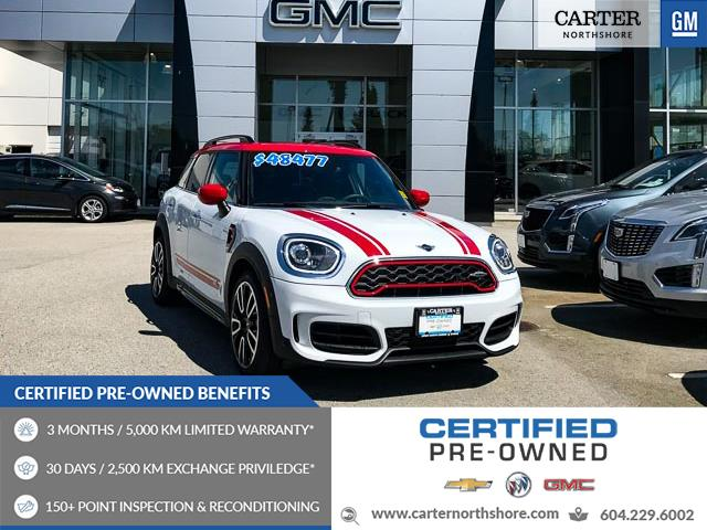 2020 MINI Countryman John Cooper Works (Stk: R72091) in North Vancouver - Image 1 of 28