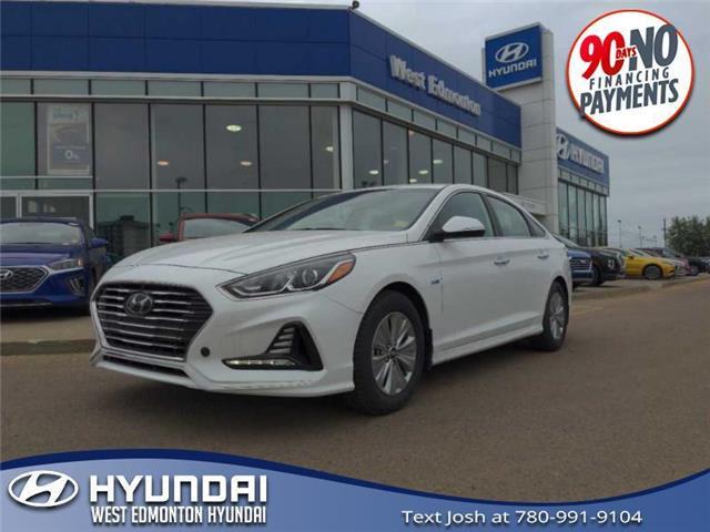 2019 Hyundai Sonata Hybrid Preferred (Stk: E5078) in Edmonton - Image 1 of 21