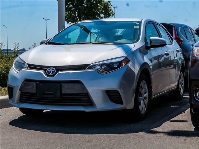 2016 Toyota Corolla  (Stk: D201258A) in Mississauga - Image 1 of 1