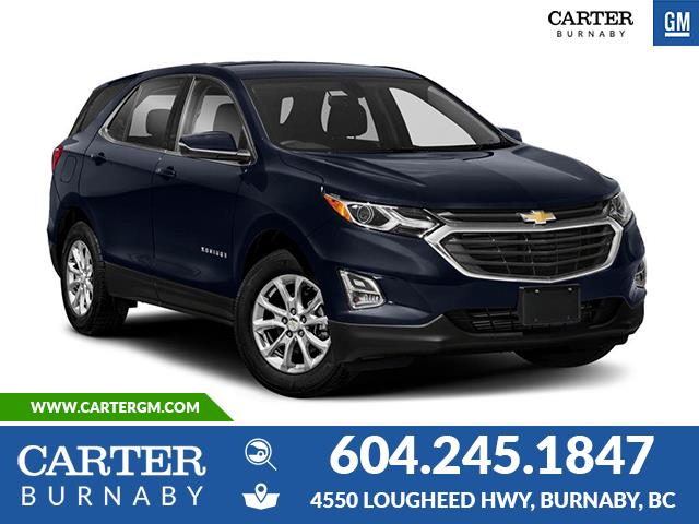 New 2020 Chevrolet Equinox LT  - Burnaby - Carter GM Burnaby