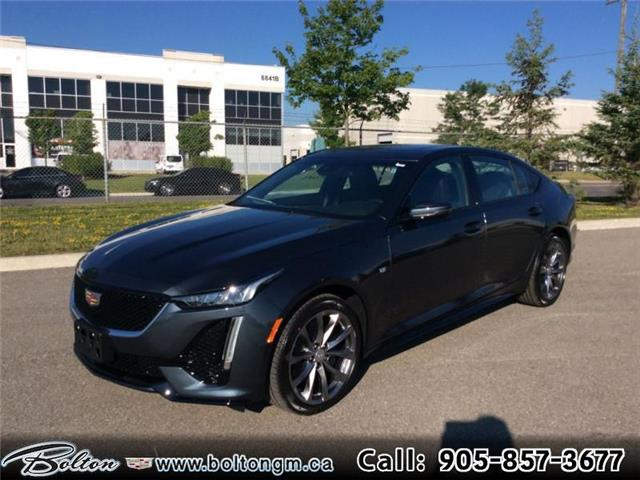 2020 Cadillac CT5 Sport (Stk: 137722) in Bolton - Image 1 of 13