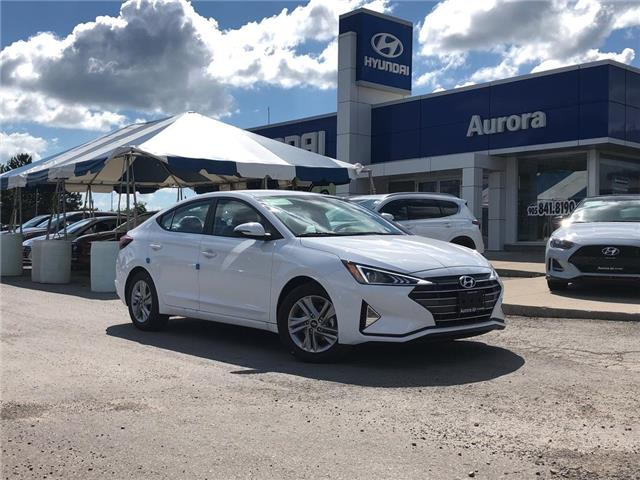 2020 Hyundai Elantra  (Stk: 22181) in Aurora - Image 1 of 15