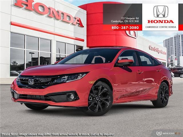 2020 Honda Civic Sport (Stk: 20985) in Cambridge - Image 1 of 22