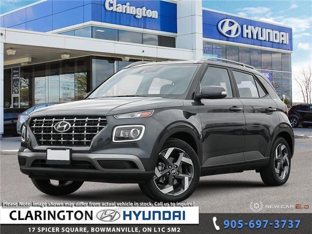 2020 Hyundai Venue Ultimate w/Black Interior (IVT) (Stk: 20374) in Clarington - Image 1 of 24