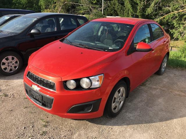 2013 Chevrolet Sonic LT Auto (Stk: 123219) in Milton - Image 1 of 1