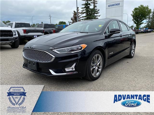 2019 Ford Fusion Hybrid Titanium (Stk: 5686) in Calgary - Image 1 of 25