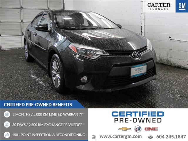 2014 Toyota Corolla LE (Stk: 80-71601) in Burnaby - Image 1 of 23