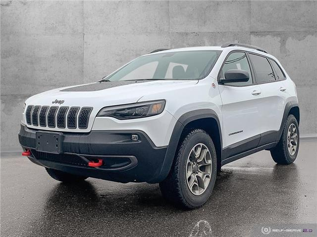 2020 Jeep Cherokee Trailhawk (Stk: 9843) in Quesnel - Image 1 of 25