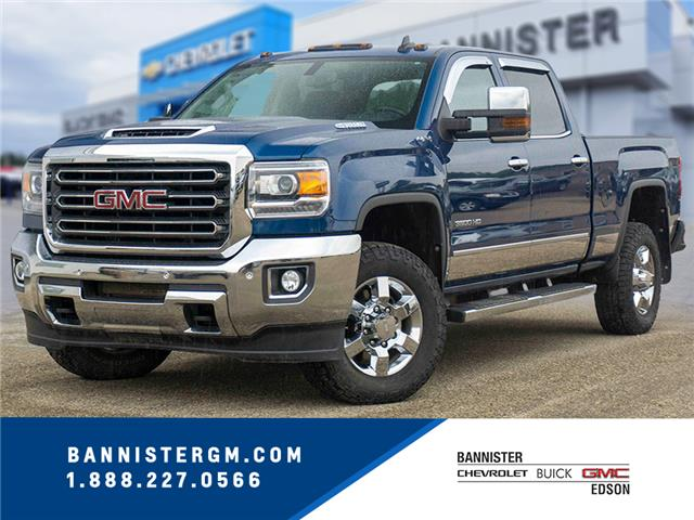 2017 GMC Sierra 3500HD SLT (Stk: 20-098A) in Edson - Image 1 of 15
