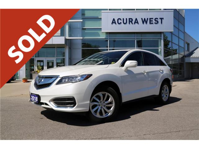 2018 Acura RDX Tech AWD 7 year 160000km Acura Warranty (Stk: 7253A) in London - Image 1 of 1